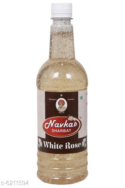 Soft Drinks Navkar White Rose Syrup Sharbat 750ml   *Product Name* Navkar White Rose Syrup Sharbat 750ml  *Brand* Navkar  *Flavour* Kesar Thandai / White Rose  *Multipack* 1  *Quantity* 750 ml  *Sizes Available* Free Size *    Catalog Name: Navkar Kesar Thandai Syrup Sharbat / White Rose Natural Drink CatalogID_959632 C89-SC1779 Code: 913-6211594-