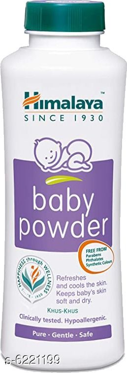 Baby Personal Care HIMALAYA BABY POWDER HIMALAYA BABY POWDER  *Sizes Available* Free Size *    Catalog Name: HIMALAYA BABY POWDER CatalogID_968837 C51-SC1664 Code: 712-6221199-