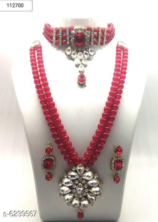 Stylish Alloy Women's Jewellery Set
