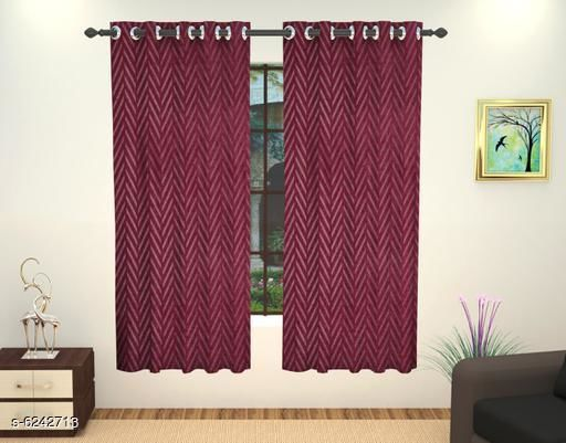 Curtains & Sheers Stylish Window Curtains  *Material* Polyester  *Length* Window  *Multipack* 1  *Sizes* 5 Feet  *Sizes Available* 5 Feet *    Catalog Name: Elite Versatile Curtains & Sheers CatalogID_986336 C54-SC1116 Code: 124-6242713-