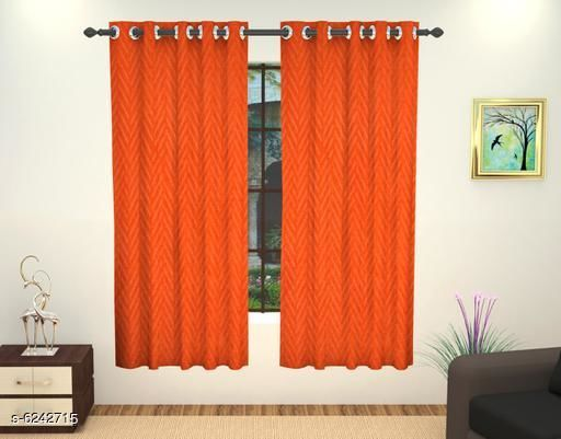 Curtains & Sheers Stylish Window Curtains  *Material* Polyester  *Length* Window  *Multipack* 1  *Sizes* 5 Feet  *Sizes Available* 5 Feet *    Catalog Name: Elite Versatile Curtains & Sheers CatalogID_986336 C54-SC1116 Code: 124-6242715-