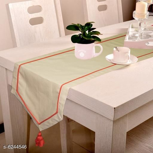 Trendy Unique Table Runners & Table Placemat