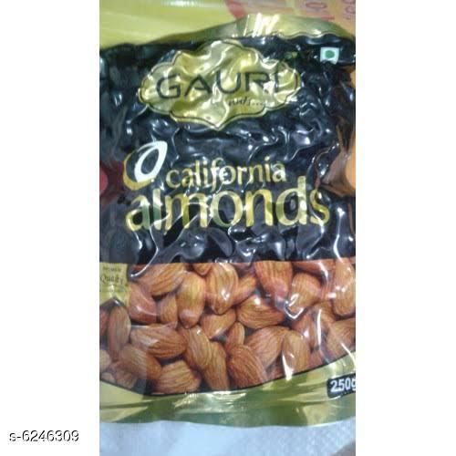 Dry Fruits Best Quality Daily Needs Almonds  *Product Name * Best Quality Daily Needs Almond  *Capacity* 250 Gm  *Multipack* Pack Of 1  *Sizes Available* Free Size *    Catalog Name: Best Quality Daily Needs Almonds CatalogID_987054 C89-SC1738 Code: 523-6246309-