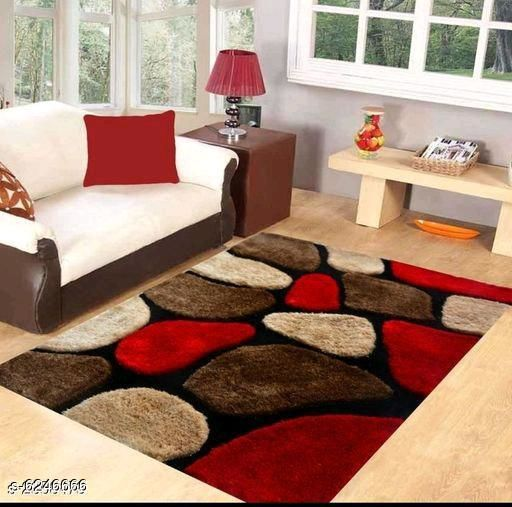 Heavy Weight Carpets Elite Attractive Shaggy living room Carpets  *Material* Polyester  *Multipack* 1  *Sizes* (L X W)  *Sizes Available* Free Size *    Catalog Name: Free Mask Classic Versatile Doormats CatalogID_987142 C55-SC1722 Code: 9021-6246666-
