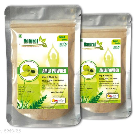 Natural Amla Powder By Natural Health and Herbal Products - 100 Gram