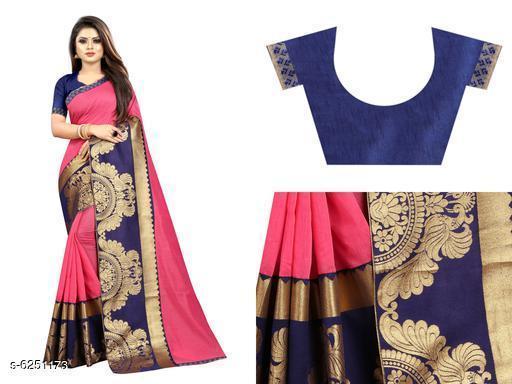 Attractive Chanderi Cotton Saree