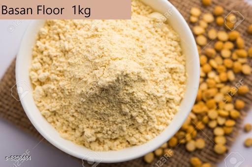 Atta Basan Floor  *Product Name* Basan Floor  *Type* Atta  *Capacity* 1 Kg  *Multipack* 1  *Sizes Available* Free Size *    Catalog Name: Premium Basan Flour CatalogID_990252 C89-SC1772 Code: 532-6258484-