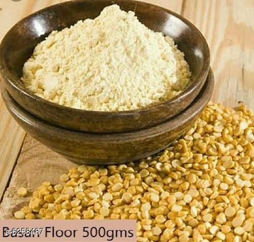 Atta Basan Floor  *Product Name* Basan Floor  *Type* Atta  *Capacity* 500  *Multipack* 1  *Sizes Available* Free Size *    Catalog Name: Premium Basan Flour CatalogID_990252 C89-SC1772 Code: 902-6258487-