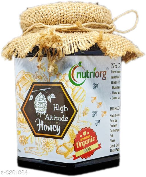 Sauces & Pickles Delicious Spreads  *Product Name* Nutriorg Honey with Jamun Flavor  *Type* Spreads  *Multipack* 1)  *Capacity* 250 g  *Sizes Available* Free Size *    Catalog Name: Delicious Spreads CatalogID_991177 C89-SC1742 Code: 732-6261864-