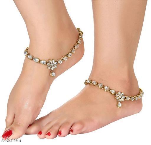 Trendy Metal Anklet