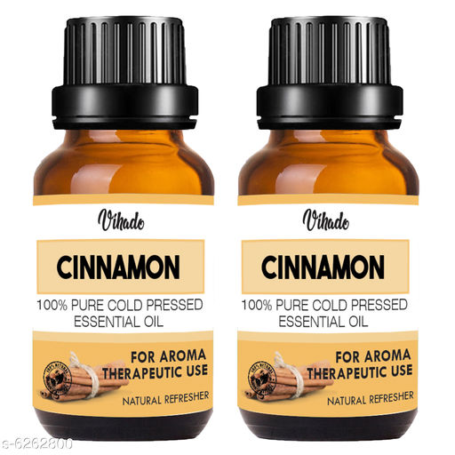 Herbal Products Therapeutic Grade Cinnamon Bath Oil Product Name: Therapeutic Grade Cinnamon Bath Oil Multipack: 2 Country of Origin: India Sizes Available: Free Size    Catalog Name:  Sensational Soothing Bath Oil  CatalogID_991500 C52-SC1305 Code: 712-6262800-893