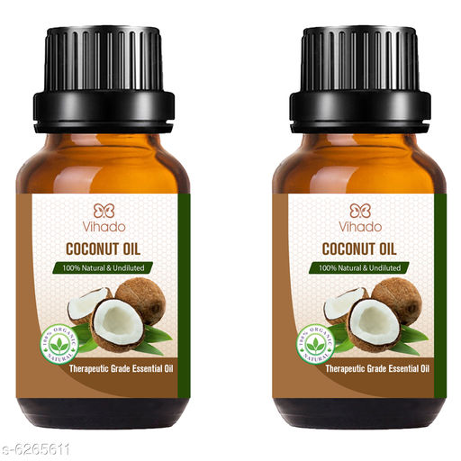 Hair Care Ayurvedic Extra Organic Coconut Oil   *Product Name* Ayurvedic Extra Organic Coconut Oil  *Brand* Vihado  *Pack* Pack Of 2  *Capacity* 15 ml Each  *Sizes Available* Free Size *    Catalog Name:  Advanced Natural Coconut Oil  CatalogID_992141 C50-SC1249 Code: 602-6265611-894