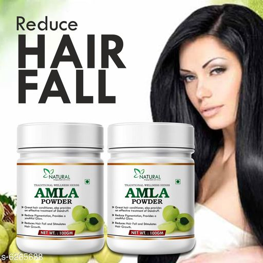 Amla Herbal Powder For Enriches Hair Growth & Pigmentation