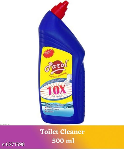 Cleaners & disinfectants Parol Toilet Cleaner 500 ml   *Product Name * Parol Toilet Cleaner 500 ml  *Product Type* Toilet Cleaner  *Capacity* 500 ml  *Description* It Has 1 Pack of Toilet Cleaner  *Sizes Available* Free Size *    Catalog Name: Parol Toilet Cleaner ( 500 ml ) CatalogID_993922 C141-SC1711 Code: 691-6271598-522