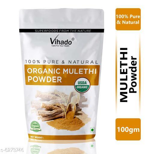 Vihado Ayurveda 100% Ayurvedic Mulethi Powder for Hair & Skin 100g (Pack of 1)