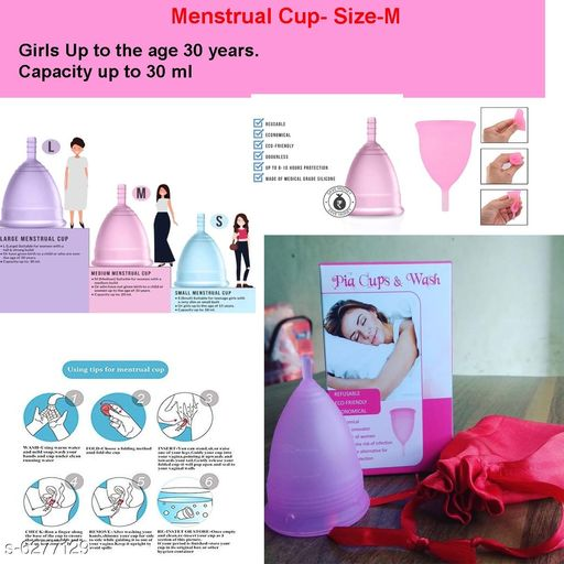 Cup Reusable Menstrual Cup for Women
