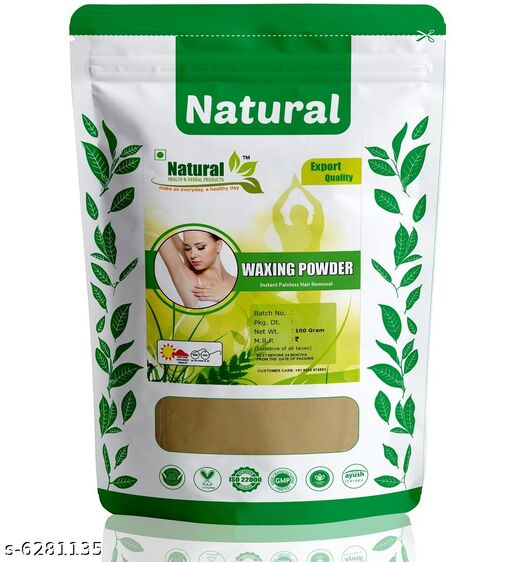 Herbal Waxing Powder Instant Hair Remover By Natural Health and Herbal Products