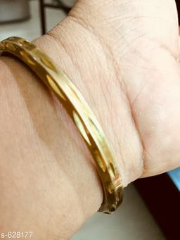 Trendy Brass Bracelet
