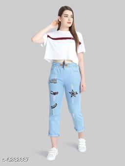 Attractive Women's Denim Jeans