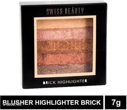 Swiss Beauty Baked Blusher and Highlighter