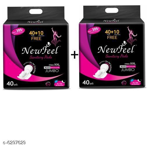 Newfeel Jumbo Sanitary Pads Combo
