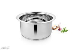 Vinayak International Capsule Bottom Stainless Steel 1150 ml Tope (16 cm)