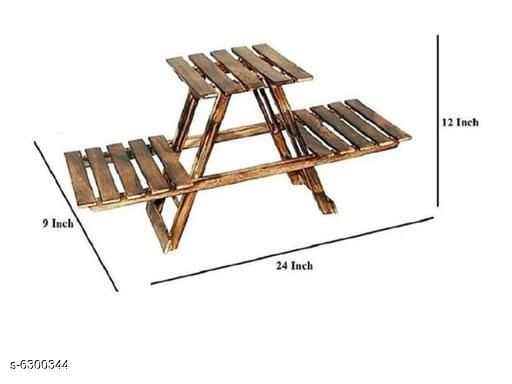 Doon Furniture House Wooden Floors Pots Stand