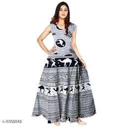 Trendy Cotton Women's Kurtis