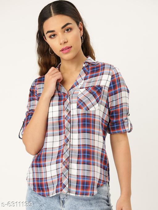 Style Quotient Womens  Blue Shirt