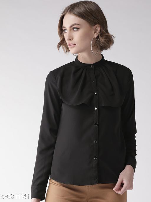 Style Quotient Womens  Black Shirt