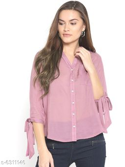 Style Quotient Womens  Pink Shirt