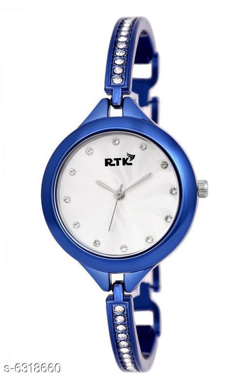 RTK New Fashinable blue chain watch for girls,women