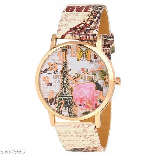RTK New Multicolor paris analog watch for women,girls