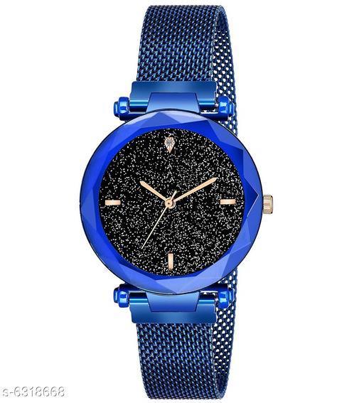 RTK New Blue chain analog watch for women,girls