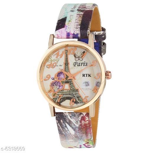 RTK New Paris Purple strap analog watch for women,girls