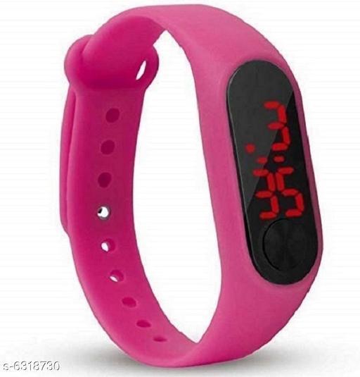 RTK New Pink Strap Digital Watch For Boys,Men