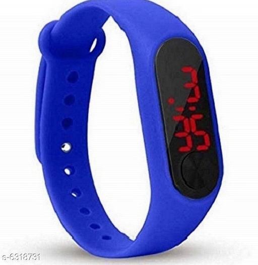 RTK New Blue Strap M2 Digital Strap watch for boys,men