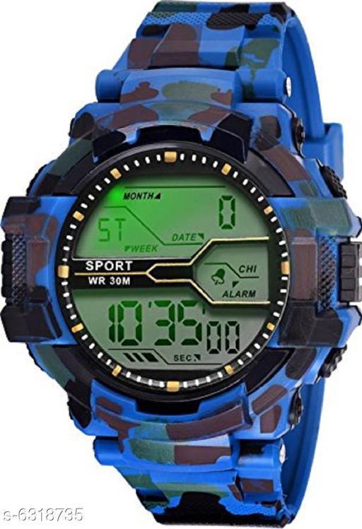 RTK New Blue Strap Digital Watch For Boys,Men