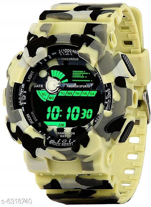 RTK New Light Green Digital Watch For Boys,Men