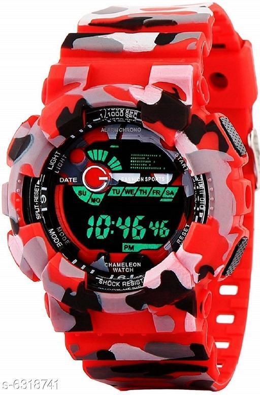 RTK New Red Strap digital Watch For Boys,Men