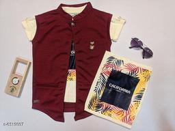 Trendy Cotton Boy's Jacket