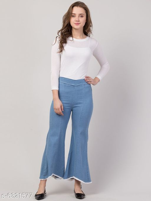 Women Casual Denim Jeans/ Joggers