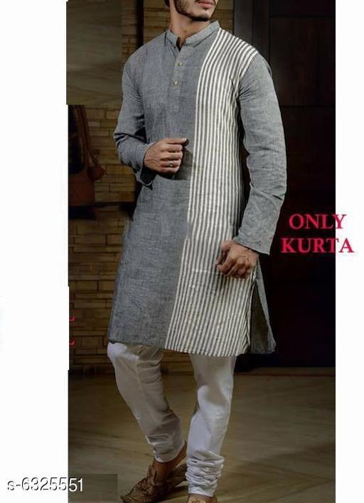 Trendy Khadi Cotton Men's Kurta