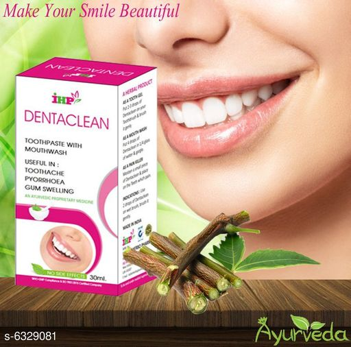 Dentacleen Tooth Paste With Mouthwash
