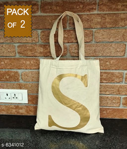 Trendy Cotton Women's Handbag Combo