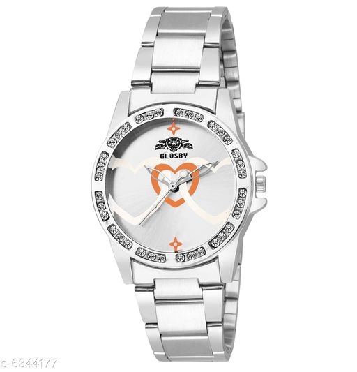 GLOSBY New Heart Look Analog Watch For Women,Girls