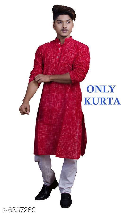 Trendy Cotton Men's Kurta