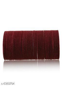 Modern Fancy Women's Velvet Bangles