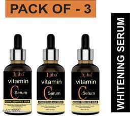 JIJIBA Vitamin C Face Serum For Skin Brightening, Skin Toning & Anti Ageing (PACK OF 3)