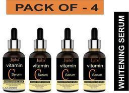 JIJIBA Vitamin C Face Serum For Skin Brightening, Skin Toning & Anti Ageing (PACK OF 4)